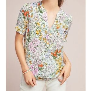 Anthropologie Tops - Conversation by Anthropologie Colloquial Blouse